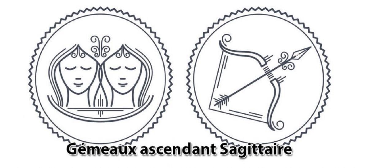 Gémeaux ascendant Sagittaire