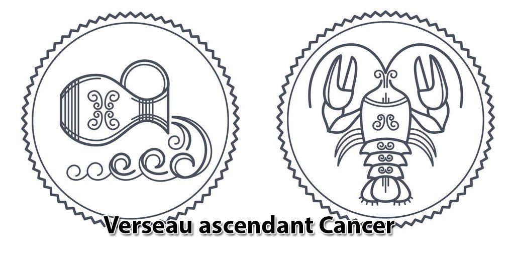 Verseau ascendant Cancer